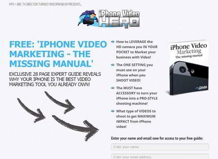 Homepage - Iphone Video Hero Review