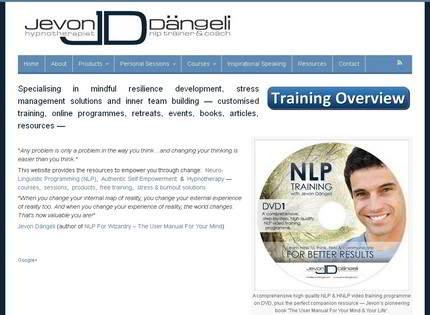 Homepage - Jevon Dangeli Coaching Review