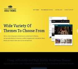 Homepage - Joolu Themes Review