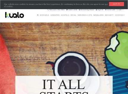 Homepage - Kualo Review