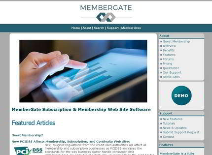 Homepage - MemberGate Review
