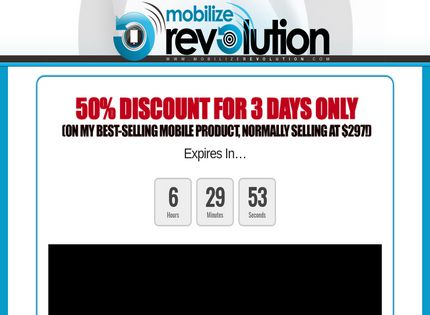 Homepage - Mobilize Revolution Review