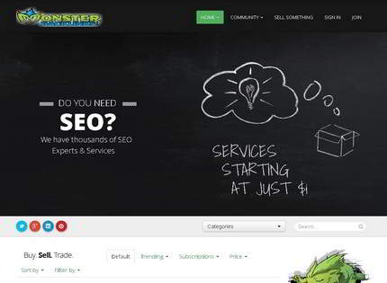 Homepage - Monster Backlinks Review