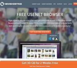 Homepage - Newshosting Review