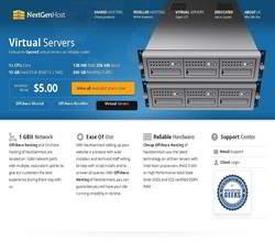 Homepage - NextgenHost Review