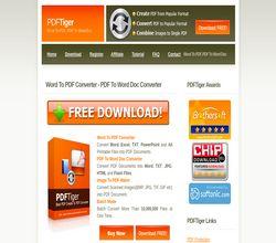 Homepage - PDFTiger Review