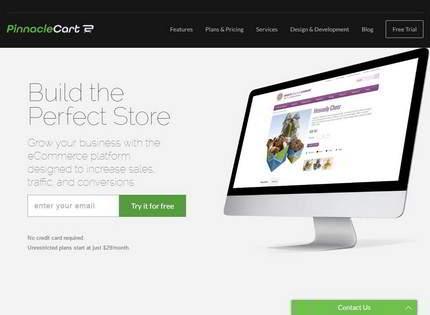 Homepage - Pinnacle Cart Review