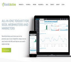 Homepage - RankActive Review