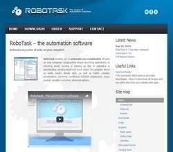 Homepage - RoboTask Review