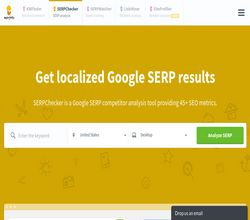 Homepage - SERPchecker Review