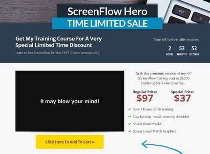 Homepage - ScreenFlow Hero Review