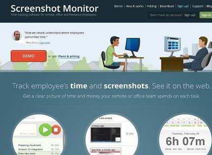 Homepage - Screenshot Monitor Review