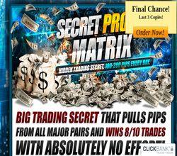 Homepage - Secret Profit Matrix Review