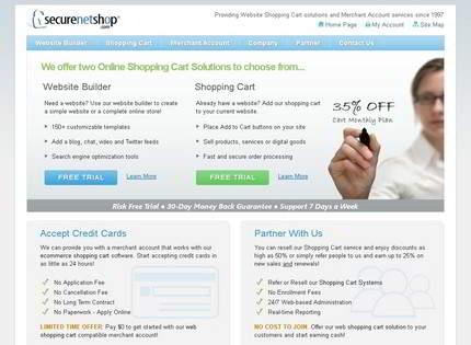 Homepage - SecureNetShop Review