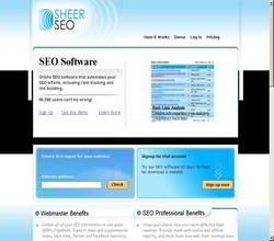 Homepage - SheerSEO Review