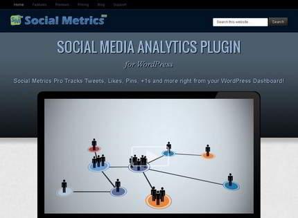 Homepage - Social Metrics Pro Review