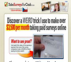 Homepage - TakeSurveysForCash Review