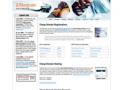 Homepage - ULTRAsurge Review