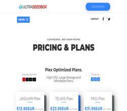 Homepage - Ultra Seedbox Review
