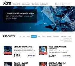 Homepage - Xara Designer Pro Review