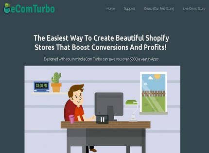 Homepage - eCom Turbo Review